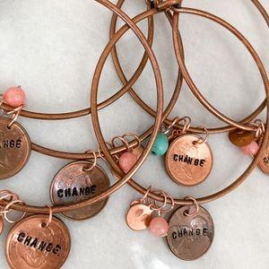 Nickel free penny bracelets